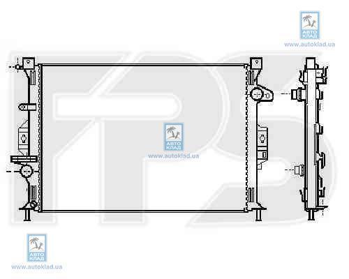 Радиатор охлаждения FPS 28A193X