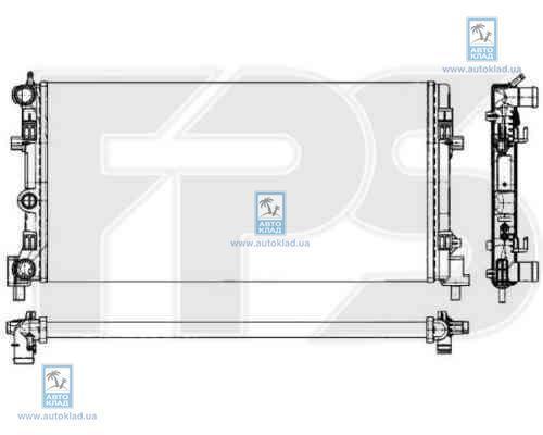 Радиатор охлаждения FPS 74A854X