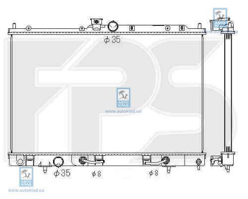 Радиатор охлаждения FPS 48A1361X