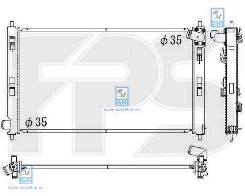 Радиатор охлаждения FPS 48A1372X