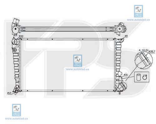 Радиатор охлаждения FPS 20A64