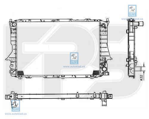 Радиатор охлаждения FPS 12A757X