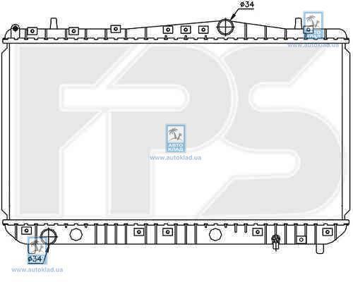 Радиатор охлаждения FPS 17A781P