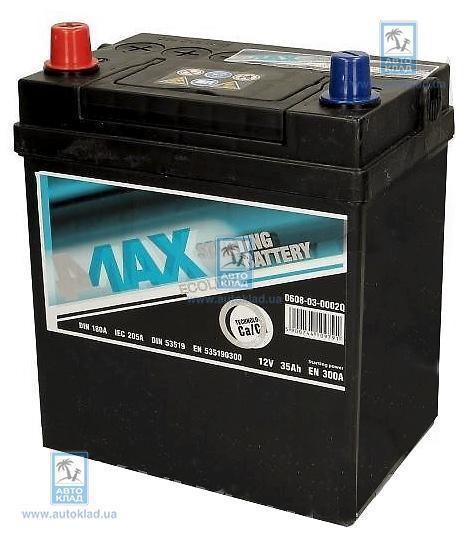 Аккумулятор 35Ач 300A Ecoline 4MAX 0608030002Q