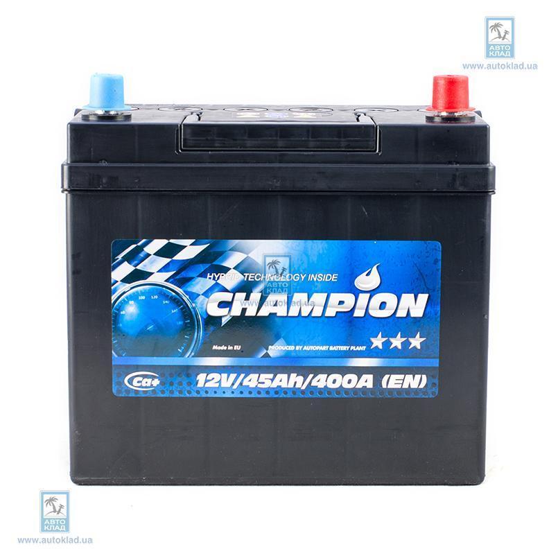 Аккумулятор 45Ач Black Japan Euro AP CHAMPION CHBJ450