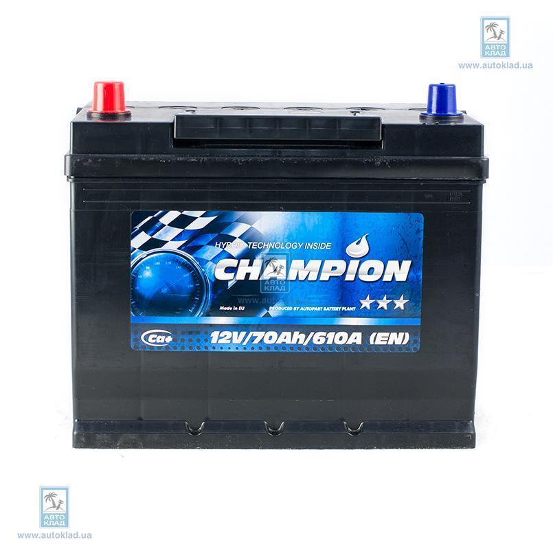 Аккумулятор 70Ач Black Japan AP CHAMPION CHBJ701