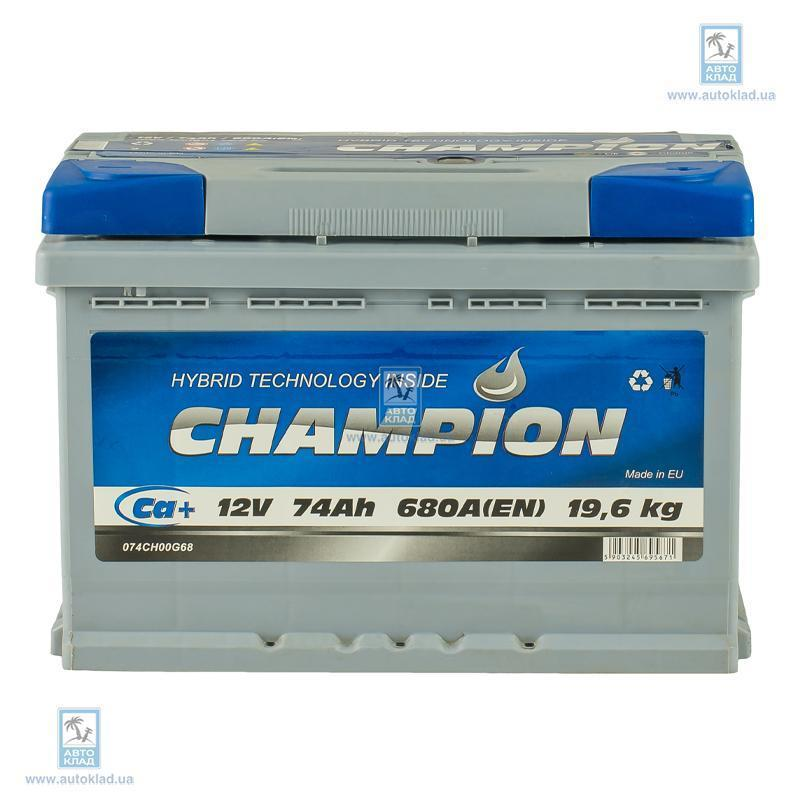 Аккумулятор 74Ач Euro AP CHAMPION CHG740