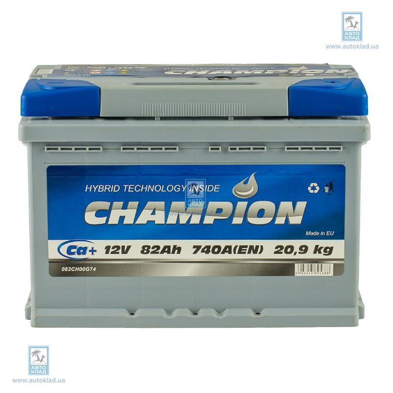 Аккумулятор 82Ач Euro AP CHAMPION CHG820