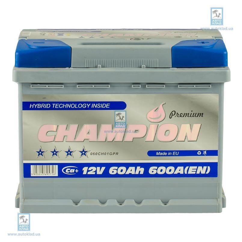 Аккумулятор 60Ач Premium Euro AP CHAMPION CHGP600
