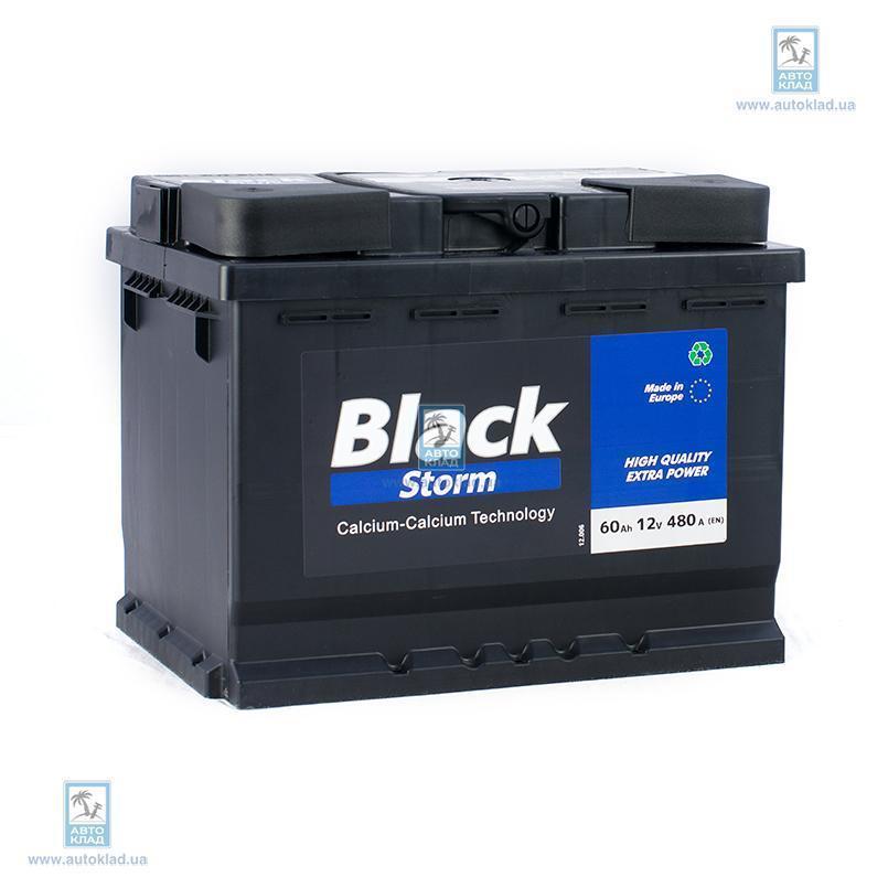 Аккумулятор 60Ач Euro Black Storm (0) AUTOPART ARL060BS0