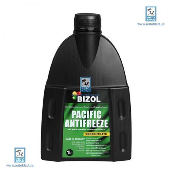 Антифриз G11 зеленый концентрат PACIFIC 1л BIZOL B81450