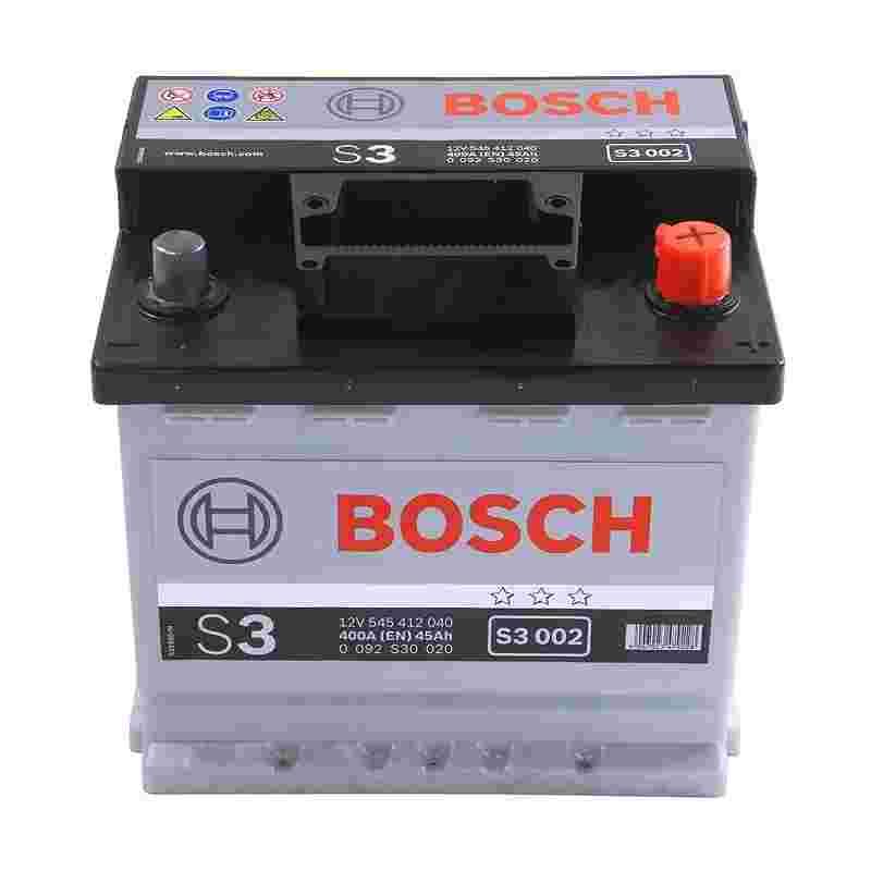 Аккумулятор S3 45Ач 400A BOSCH 0092S30020