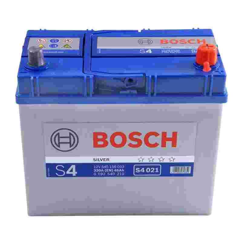 Аккумулятор S4 45Ач 330А BOSCH 0092S40210