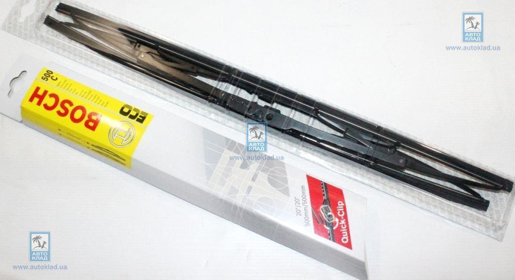 Щетки стеклоочистителя комплект Eco V3 500C 500/500мм BOSCH 3397005161