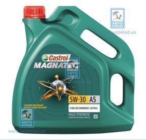 Масло моторное 5W-30 MagnaTec A5 4л CASTROL 135188255