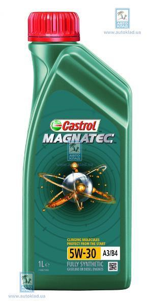 Масло моторное 5W-30 MagnaTec A3/B4 1л CASTROL 135277254