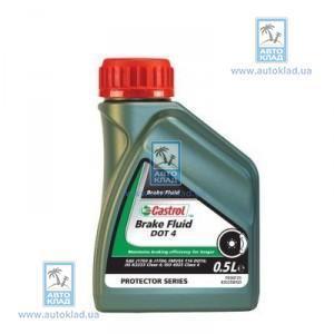 Тормозная жидкость DOT4 500мл CASTROL 176010059
