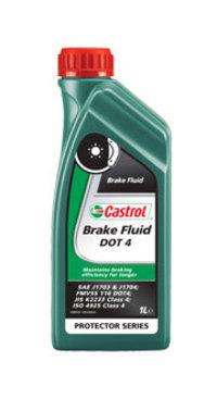 Тормозная жидкость DOT 4 1л CASTROL 176010060