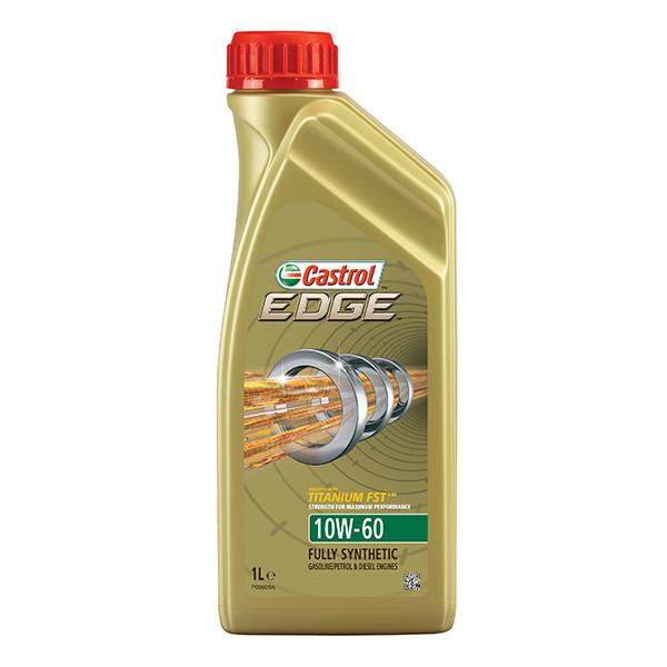 Масло моторное 10W-60 EDGE Titanium 1л CASTROL CASEDGE10W60TITL1