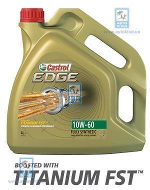 Масло моторное 10W-60 EDGE Titanium 4л CASTROL CASEDGE10W60TITL4