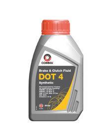 Тормозная жидкость DOT 4 Synt 500мл COMMA DOT4SYNT500ML