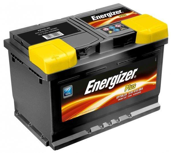 Аккумулятор 60Ач 510А PLUS ENERGIZER 560413051