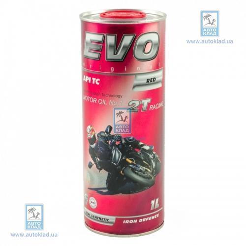 Масло 2Т MOTO RACING 1л EVO 2TRACINGRED