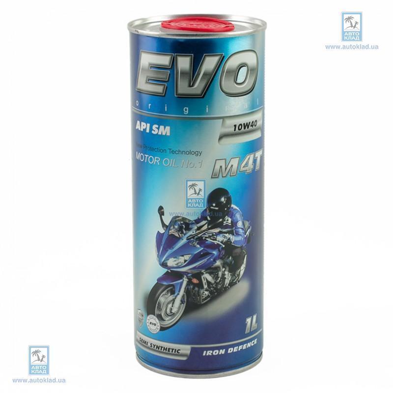 Масло моторное 10W-40 для 4Т MOTO M4T 1л EVO M4T10W401L