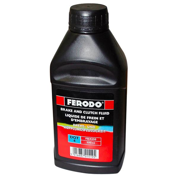 Тормозная жидкость DOT 4 500мл FERODO FBX050
