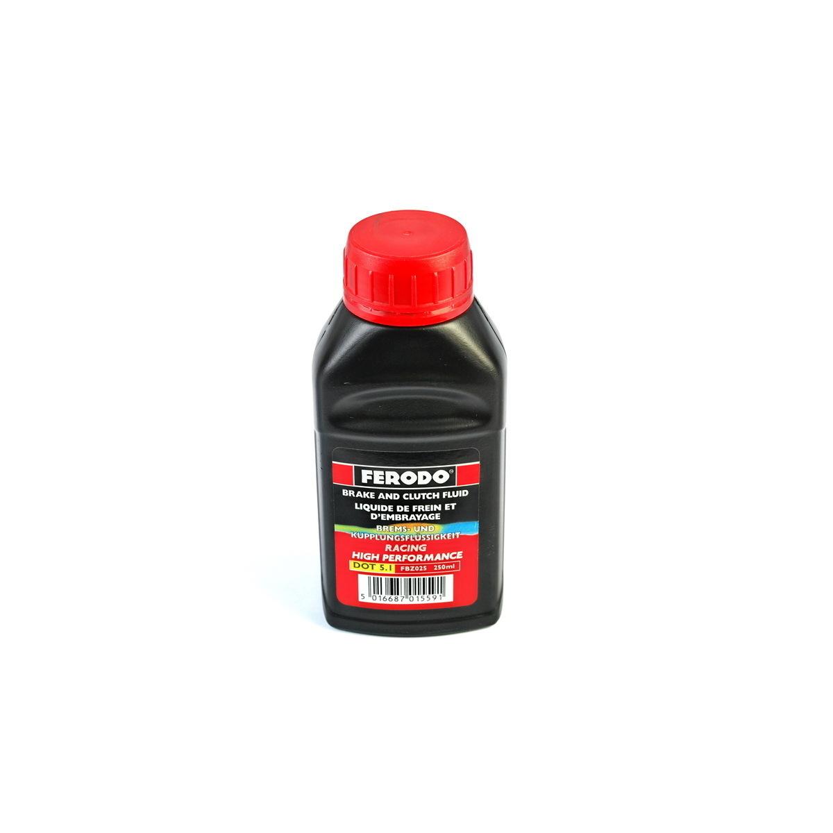 Тормозная жидкость DOT 5.1 250мл FERODO FBZ025A