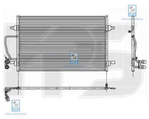 Радиатор кондиционера FPS 12K187