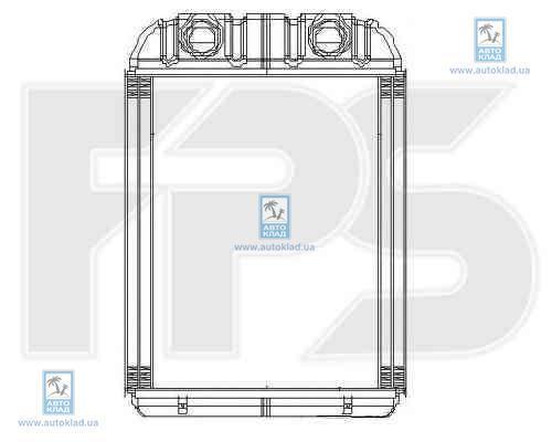 Радиатор отопителя салона FPS 12N197X