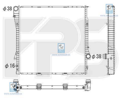 Радиатор охлаждения FPS 14A50X