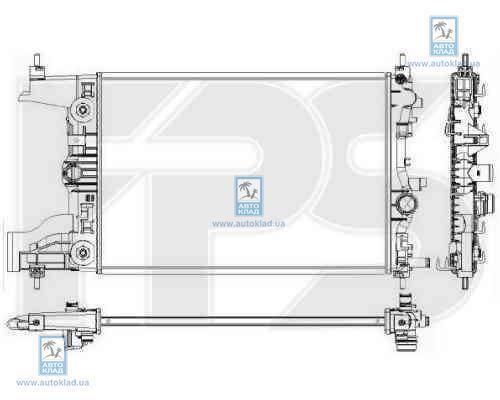 Радиатор охлаждения FPS 17A322X