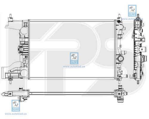 Радиатор охлаждения FPS 17A323X
