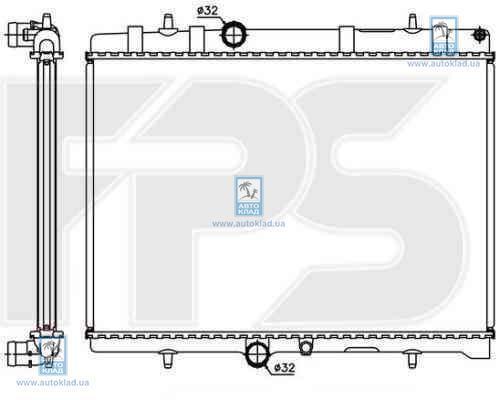 Радиатор охлаждения FPS 20A308
