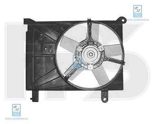 Вентилятор радиатора FPS 22W16