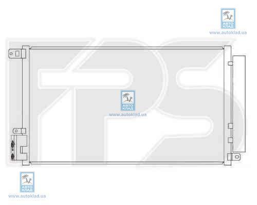 Конденсор кондиционера FPS 26K151