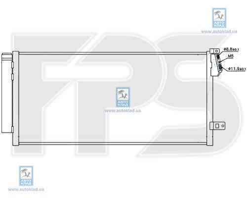 Радиатор кондиционера FPS 26K231X