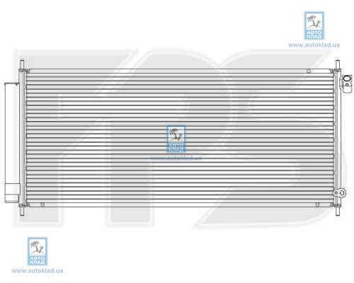 Радиатор кондиционера FPS 30K85X