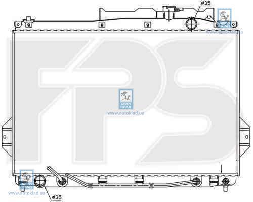 Радиатор охлаждения FPS 32A113X