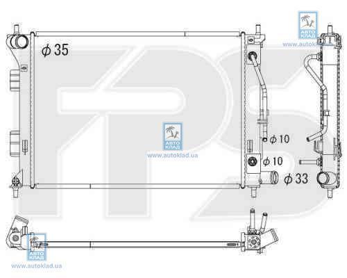 Радиатор охлаждения FPS 32A374X