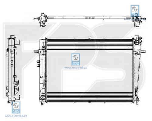 Радиатор охлаждения FPS 32A46X
