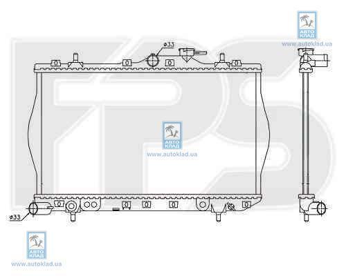 Радиатор охлаждения FPS 32A640
