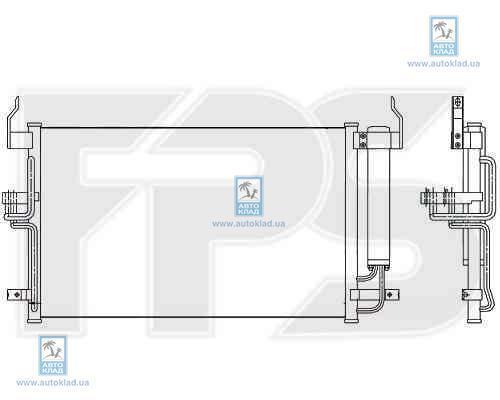 Конденсор кондиционера FPS 32K296