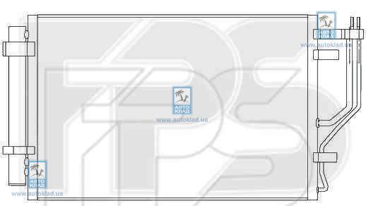 Конденсор кондиционера FPS 40K776X