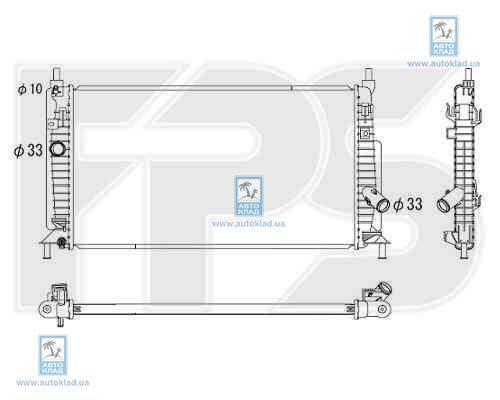 Радиатор охлаждения FPS 44A306X
