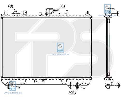 Радиатор охлаждения FPS 44A623X