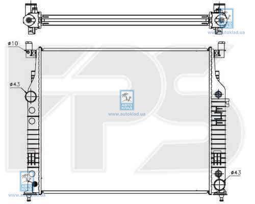 Радиатор охлаждения FPS 46A51