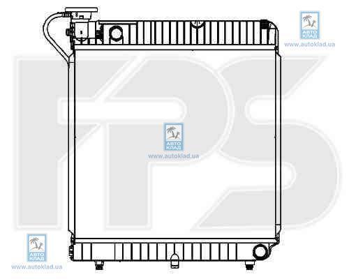 Радиатор охлаждения FPS 46A743X